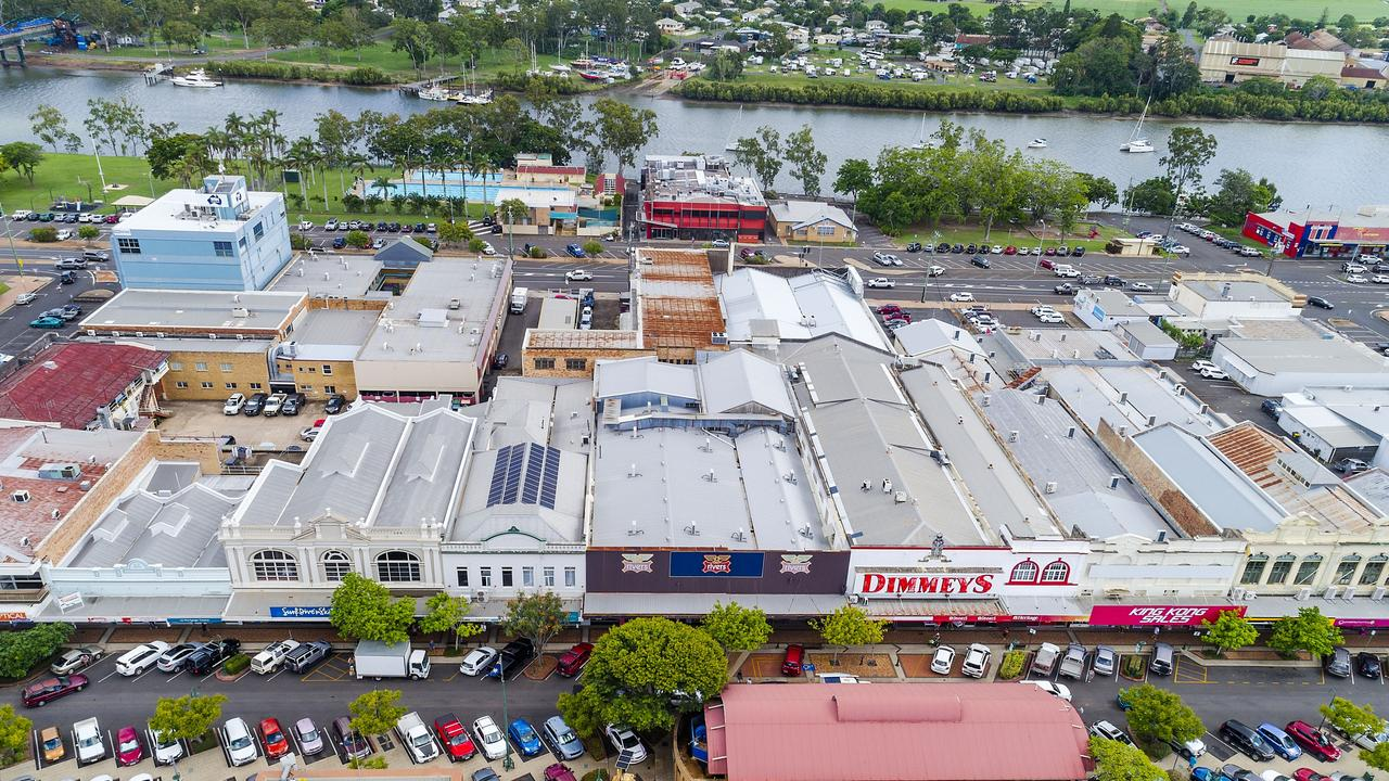 The Bundaberg Central Business District. Picture: Supplied.