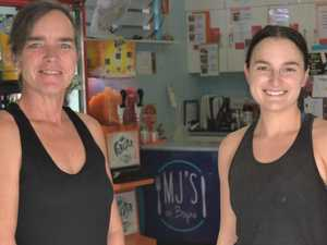 Cafe owner thankful for support after 'sleepless nights'