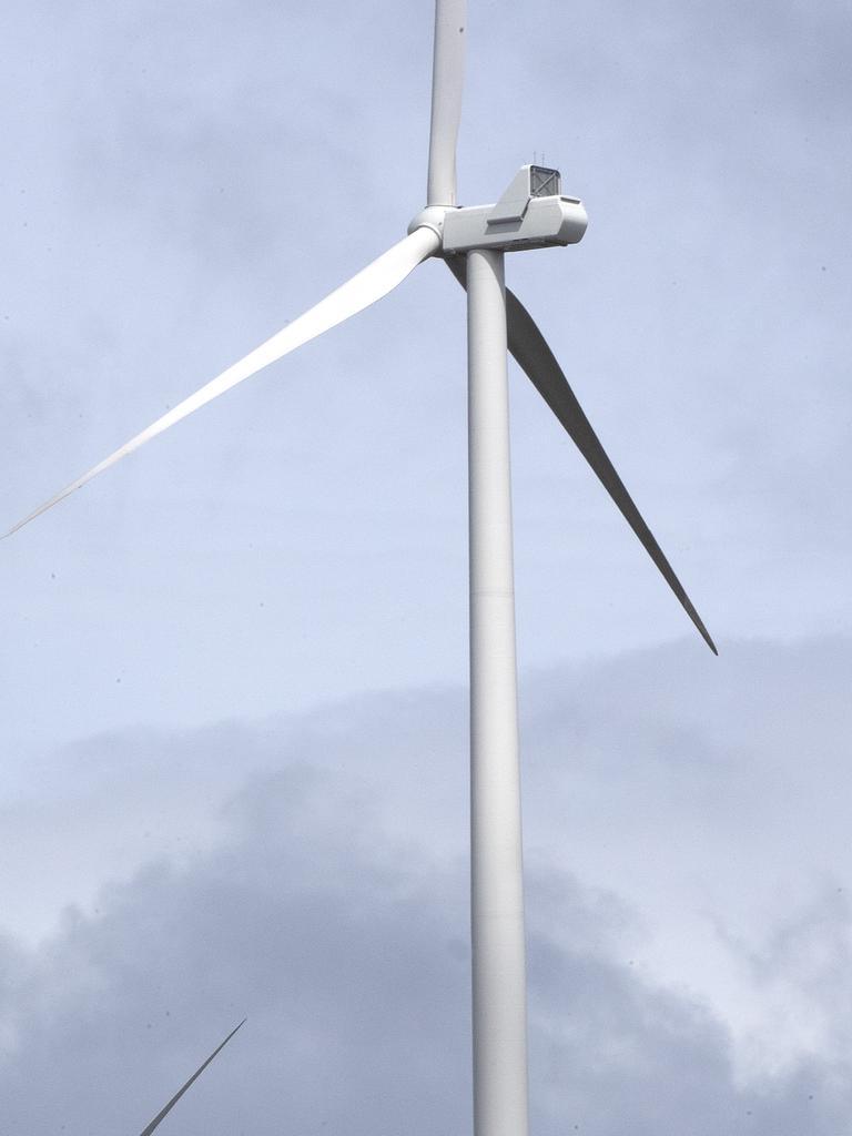 Granville Harbour Wind Farm. Picture Chris Kidd