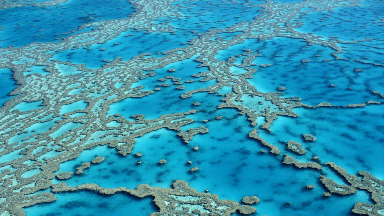 AERIAL OF THE GREAT BARRIER REEF IN AUSTRALIA Great Barrier Reef Generic