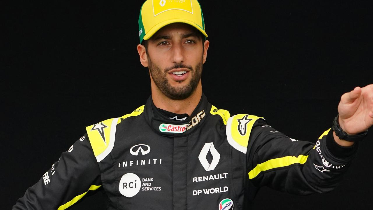 Daniel Ricciardo missed out.