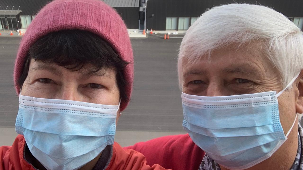 Penny and Jiri Martinek, were diagnosed with the novel coronavirus while in quarantine on the Diamond Princess. They spent about a month in a Japanese hospital. Jiri is donating plasma to be used in trials involving seriously ill COVID-19 patients to see whether his antibodies help them recover.