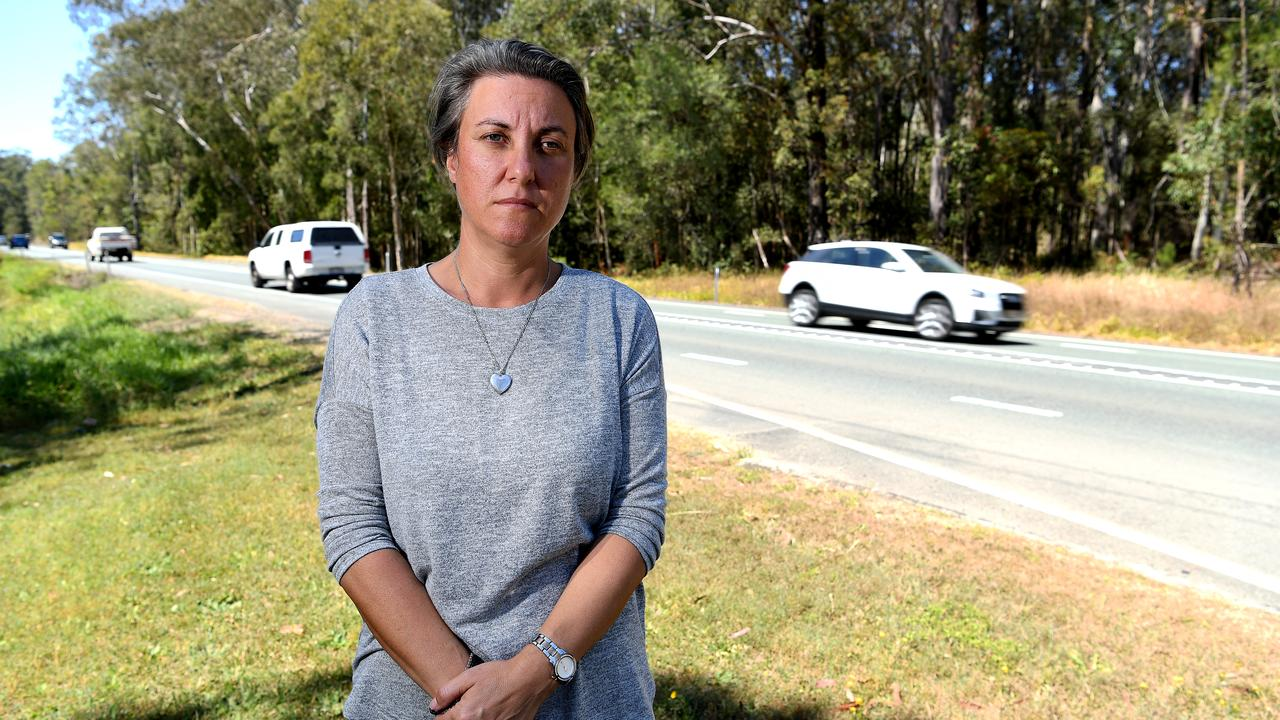 Catherine Frewer has fearlessly campaigned for better attitudes towards cyclists after her husband, Cameron was hit and killed on Caloundra Rd in 2018. Photo: Warren Lynam