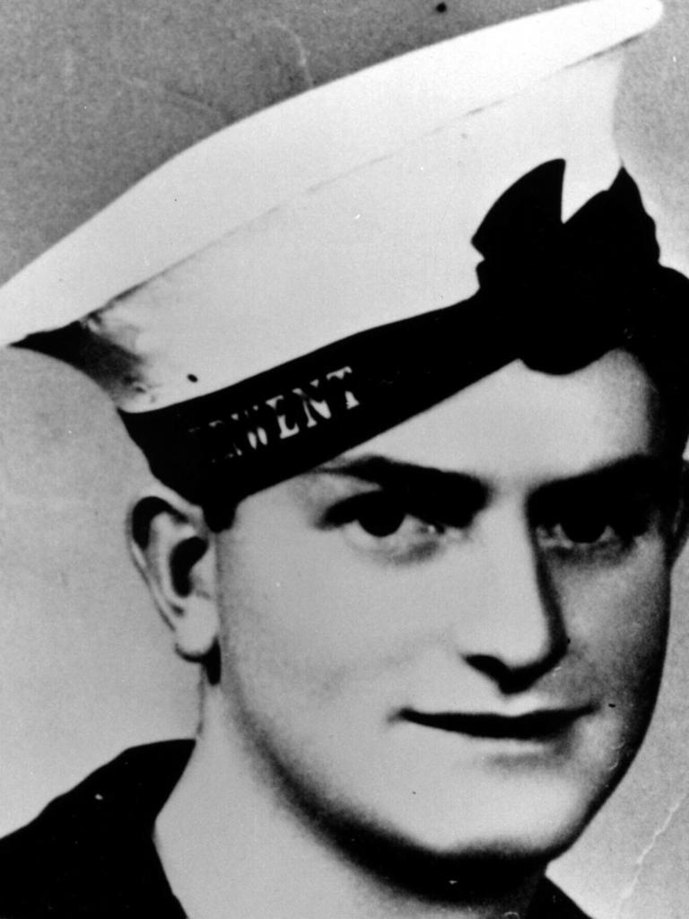 Ordinary Seaman Edward 'Teddy' Sheean.