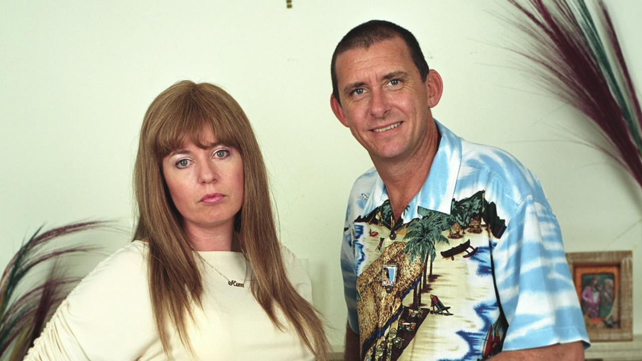 Kath and Kim stars Gina Riley and Peter Rowsthorn.
