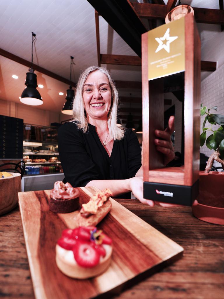 Local Business owner Tania Usher from Blue Ginger Pinics has won a major tourism award during the recent NSW Tousim Award night. PHOTO: SCOTT POWICK