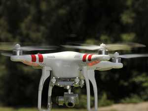Unable to bathe in peace: Drone wreaks havoc on privacy