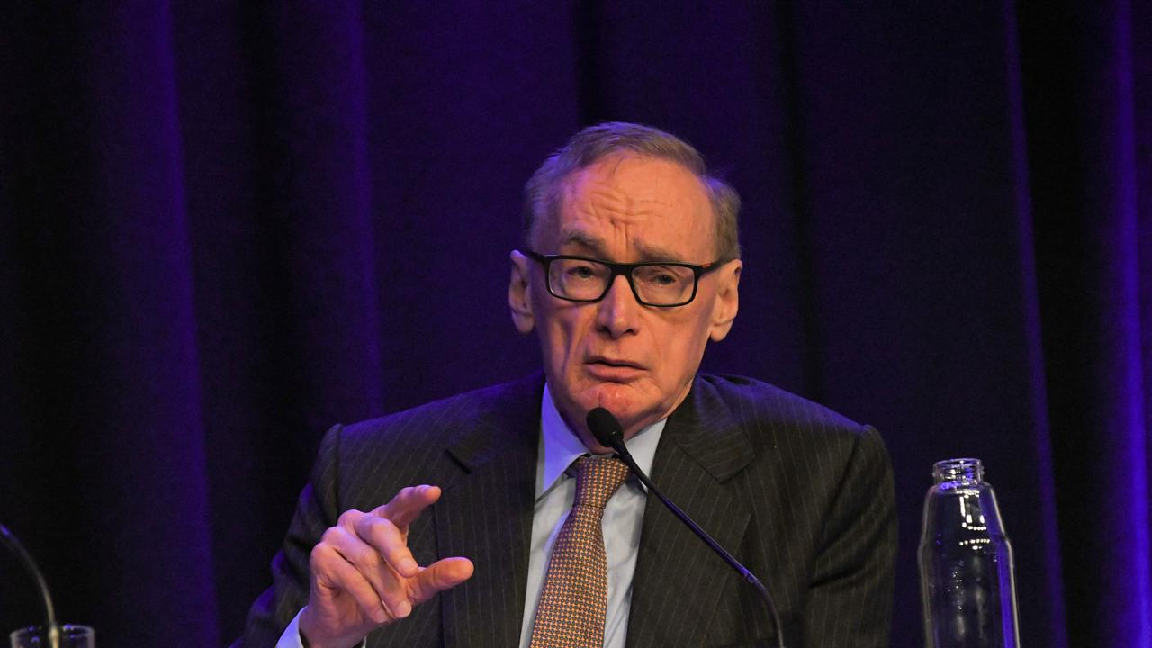 Former Premier Bob Carr runs an Australia-China think tank. Picture: AAP Image/Simon Bullard
