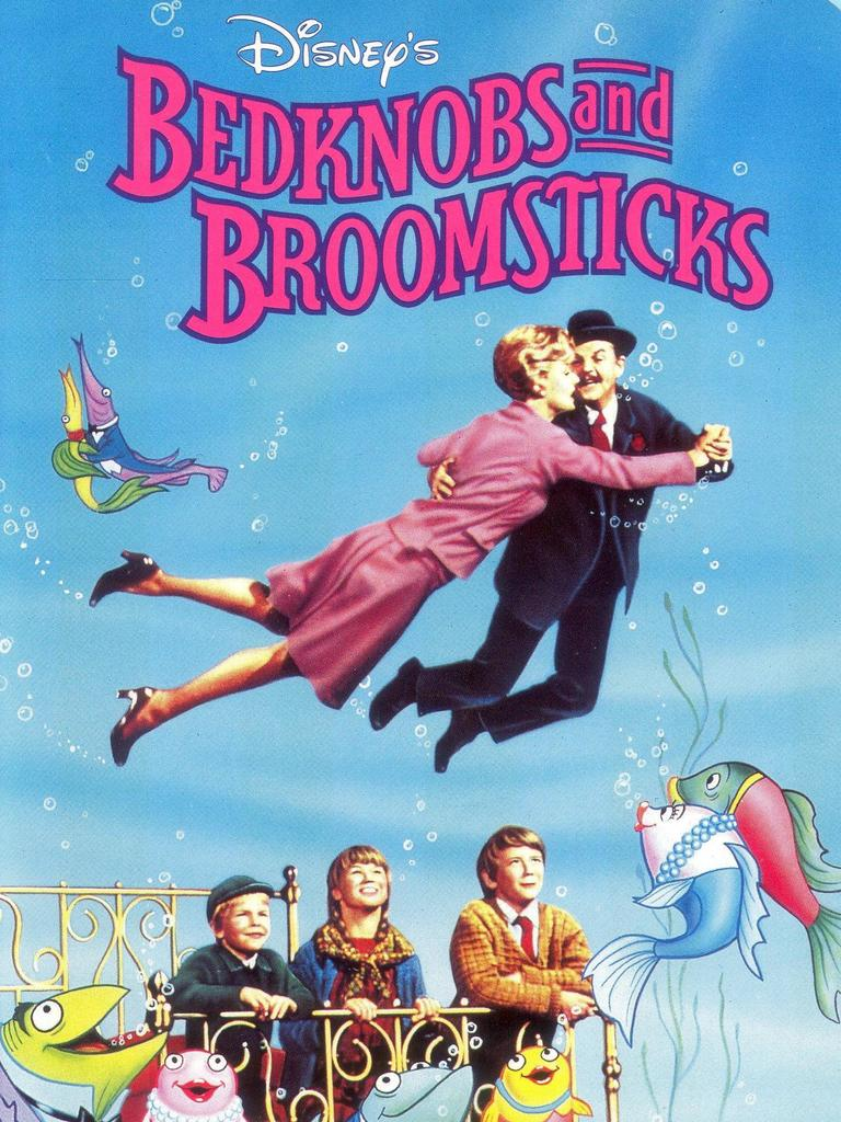 The movie Bedknobs and Broomsticks was made in 1971, and tells the story of a witch in training who uses a magical bedknob to travel.