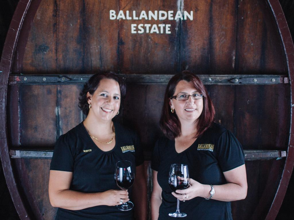 Fourth-generation wine producers Robyn Puglisi-Henderson and Leeanne Puglisi-Gangemi of Ballandean Estate.
