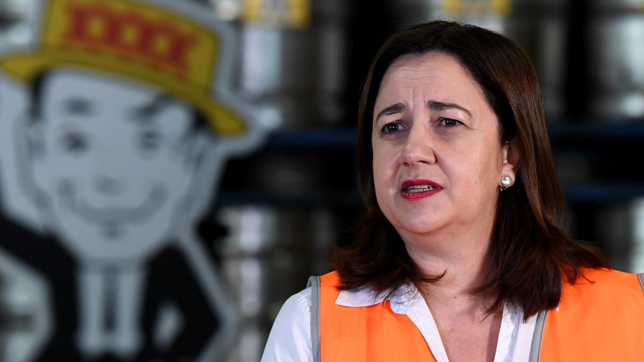 Queensland Premier Annastacia Palaszczuk. (AAP Image/Dan Peled)