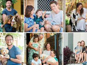 Coffs Coast families captured in 'Front Porch Project'
