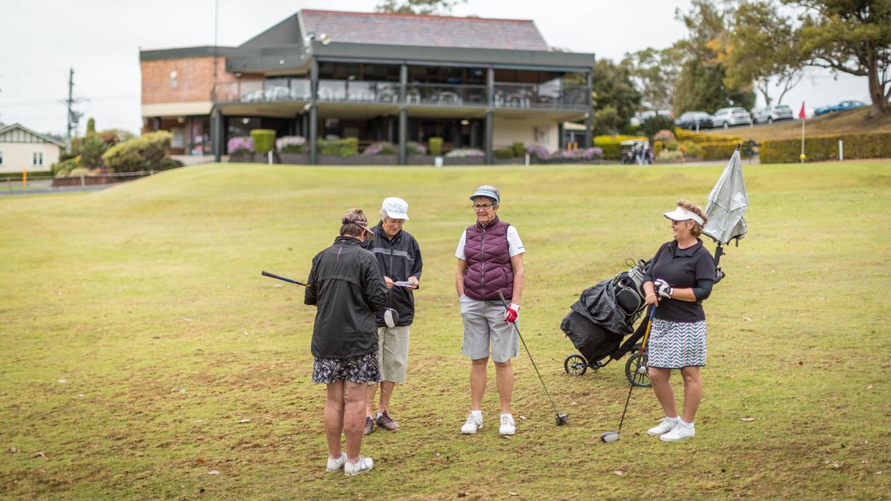 GREEN LIGHT: social golfers will be able to return to Northern Rivers courses in groups of four from tomorrow. Photo contributed.
