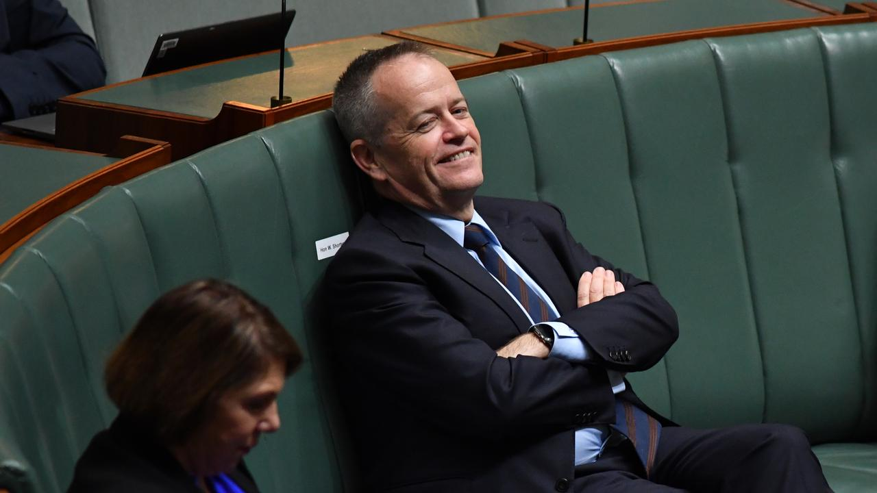 Former Opposition leader Bill Shorten has praised comments made by a leading union leader. Picture: Sam Mooy/Getty Images