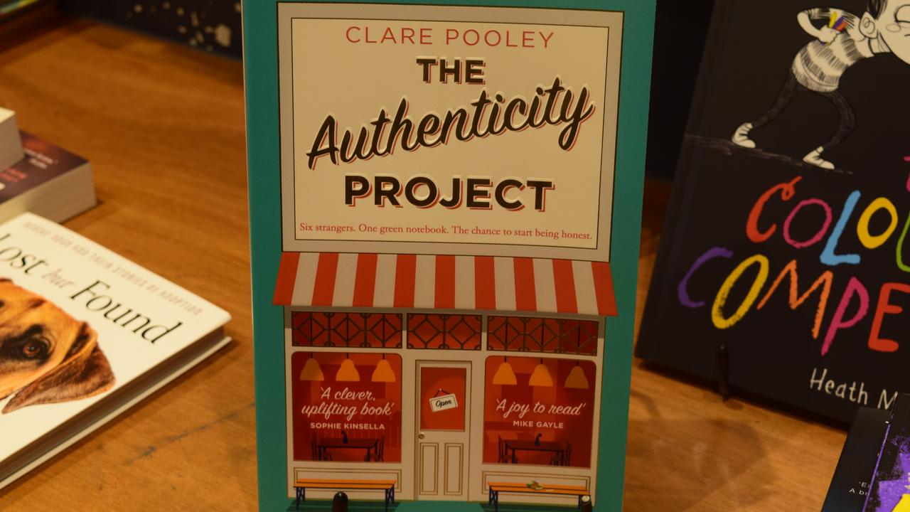 Cover of The Authenticity Project by Clare Pooley