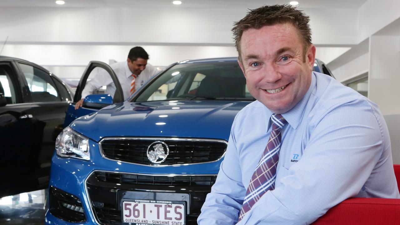 Bartons managing director Mark Beitz. Picture: Steve Pohlner