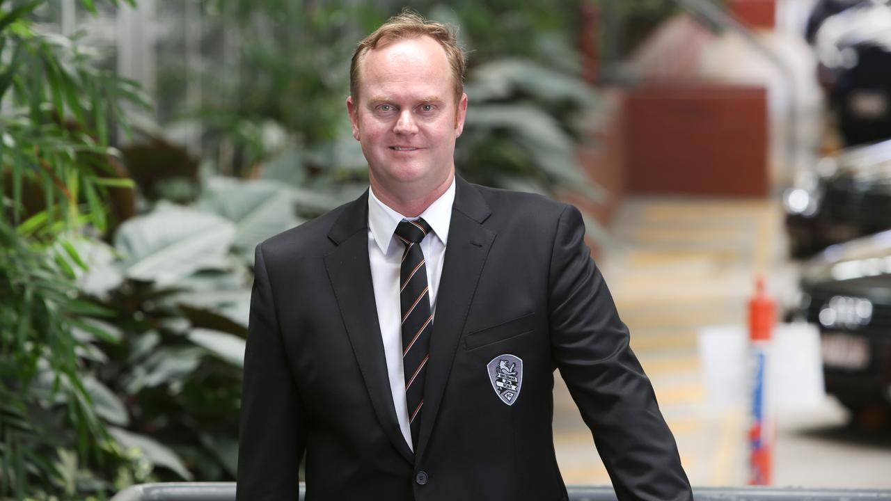 Brisbane Roar CEO David Pourre.
