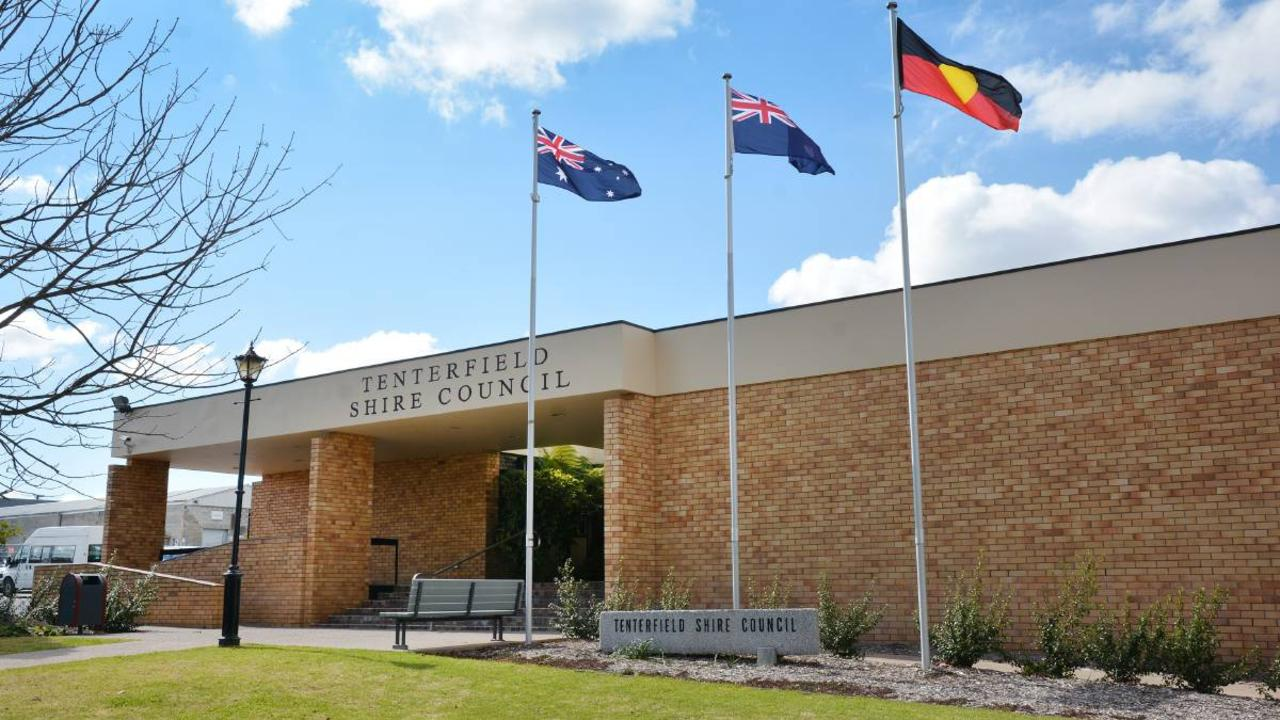 The Tenterfield Shire Council building on Rouse Street, Tenterfield.