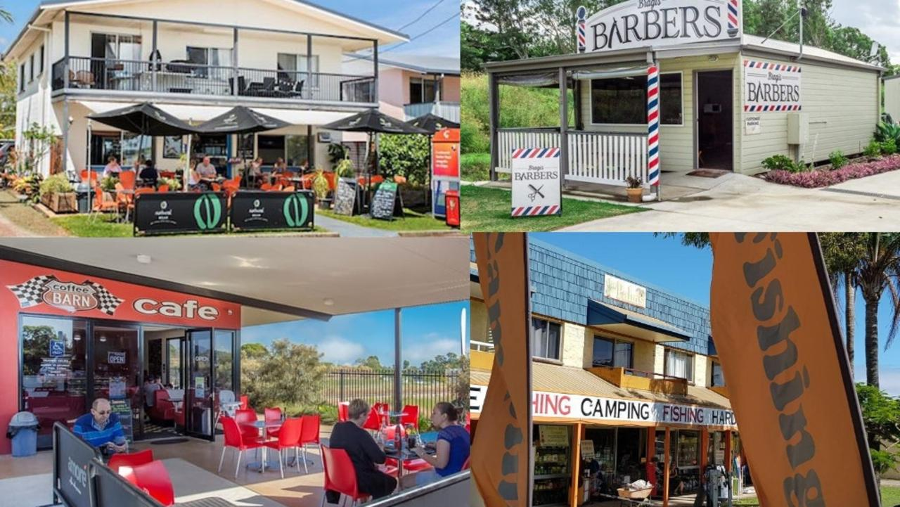 From barbershops to cafes there are a range of business opportunities under $300k in the Gympie region for investors.