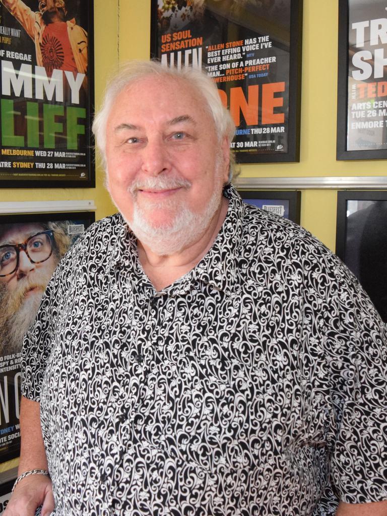 Bluesfest Director Peter Noble.