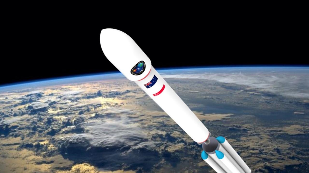 Gilmour Space Technologies' Eris orbital rocket