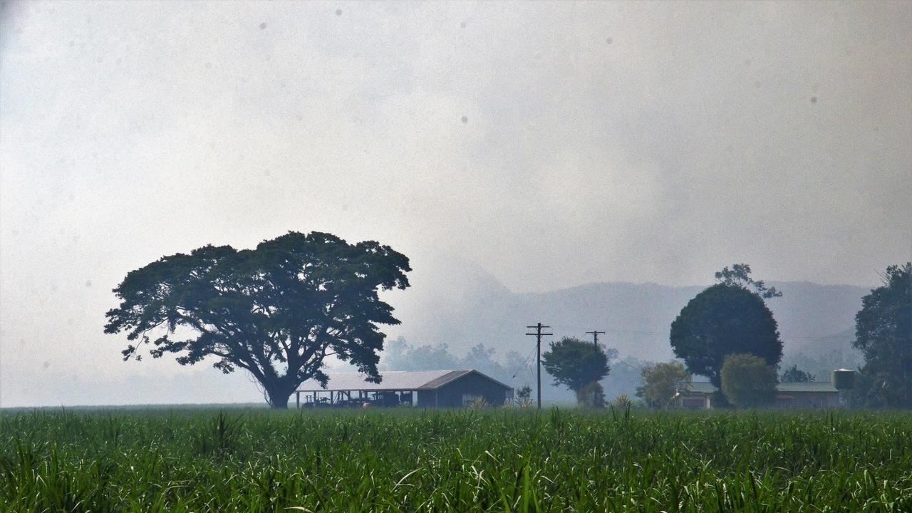 FIRE RISK: Smoke from a controlled burn is a reminder to check with fire wardens for advice, before burning off.
