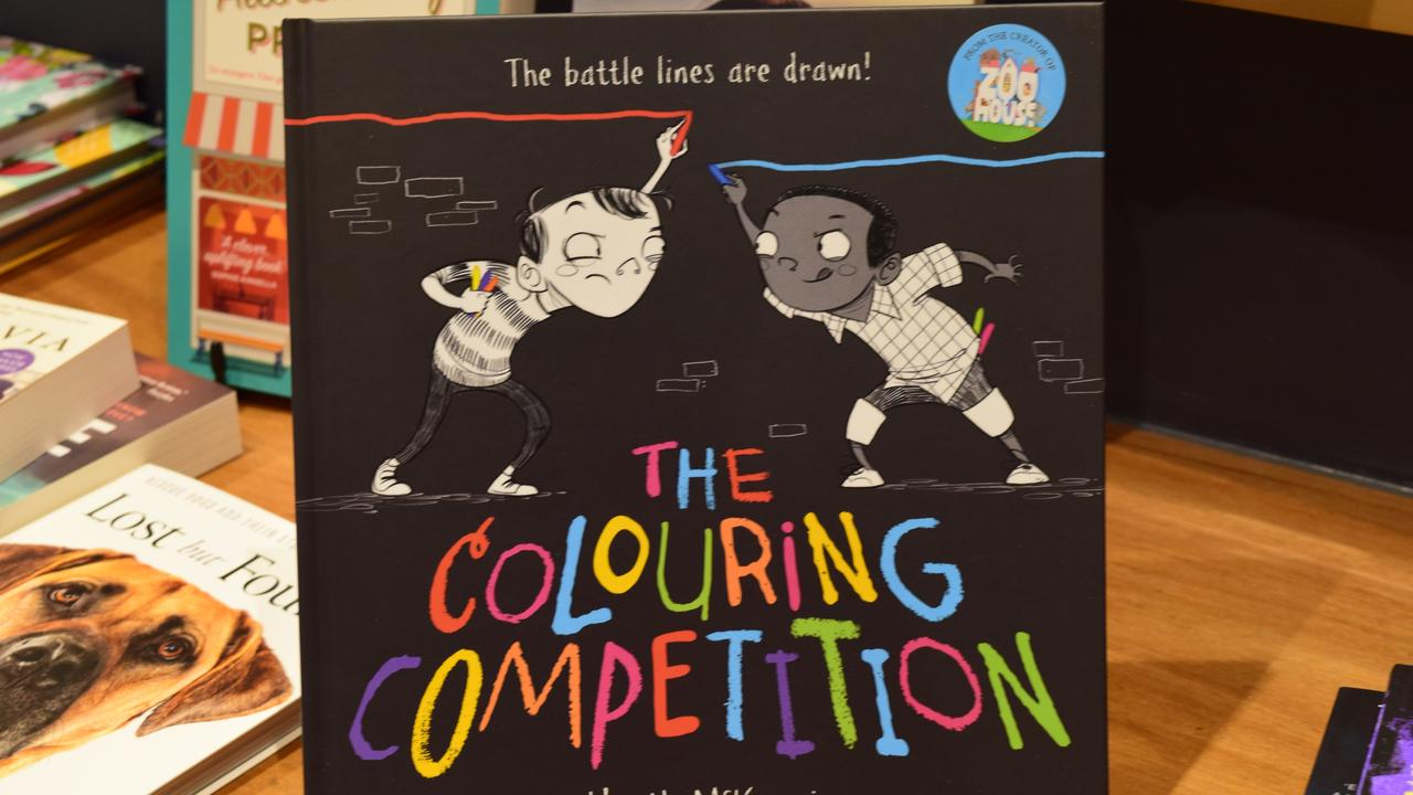 Cover of The Colouring Competition by Heath Mackenzie