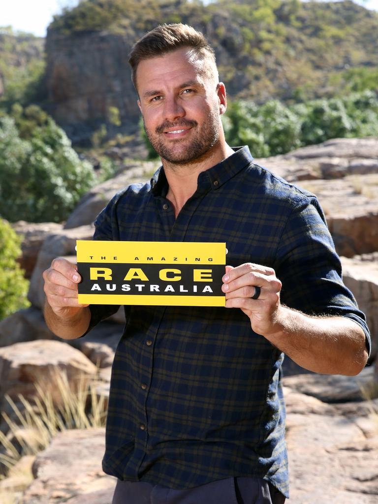 The Amazing Race host Beau Ryan.
