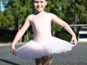 Eliisa Crane from Janelle's Academy of Dance in her