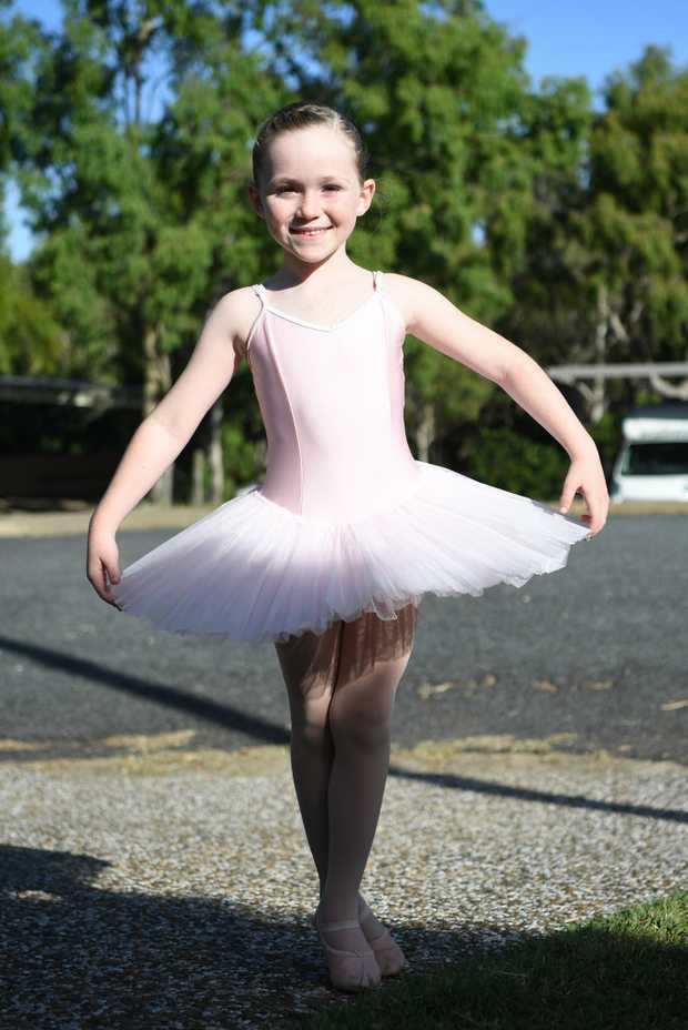Image for sale: Eliisa Crane from Janelle's Academy of Dance in her Lammermoor driveway
