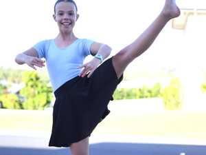 Ruby Hughston from Janelle's Academy of Dance in her