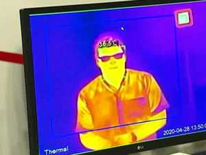 New thermal tech to check temps at front door