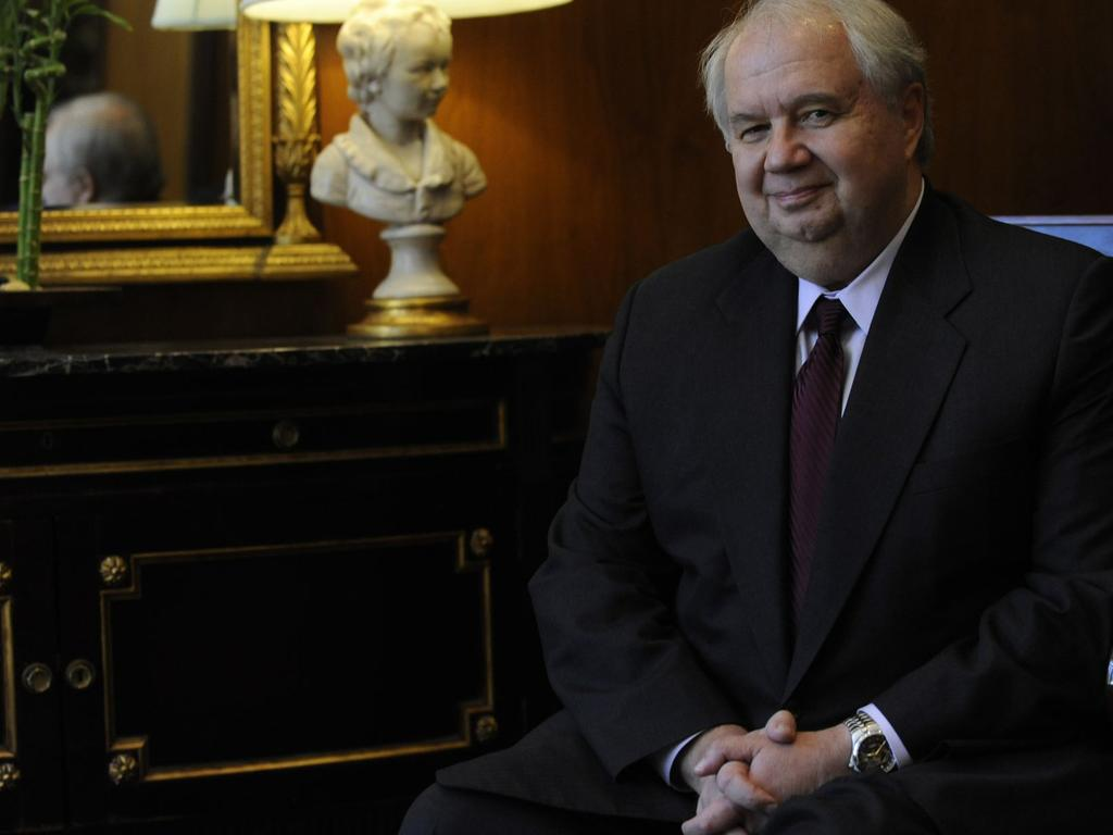 Russian ambassador Sergey Kislyak. Picture: Getty