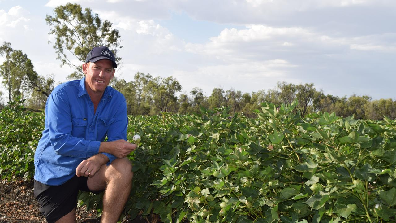 Emerald grower Aaron Kiely is a star of the national #gotyourback campaign.