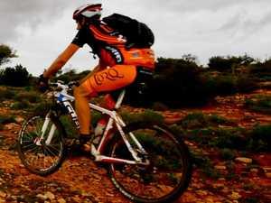 Rider injured in crash on hinterland bike track