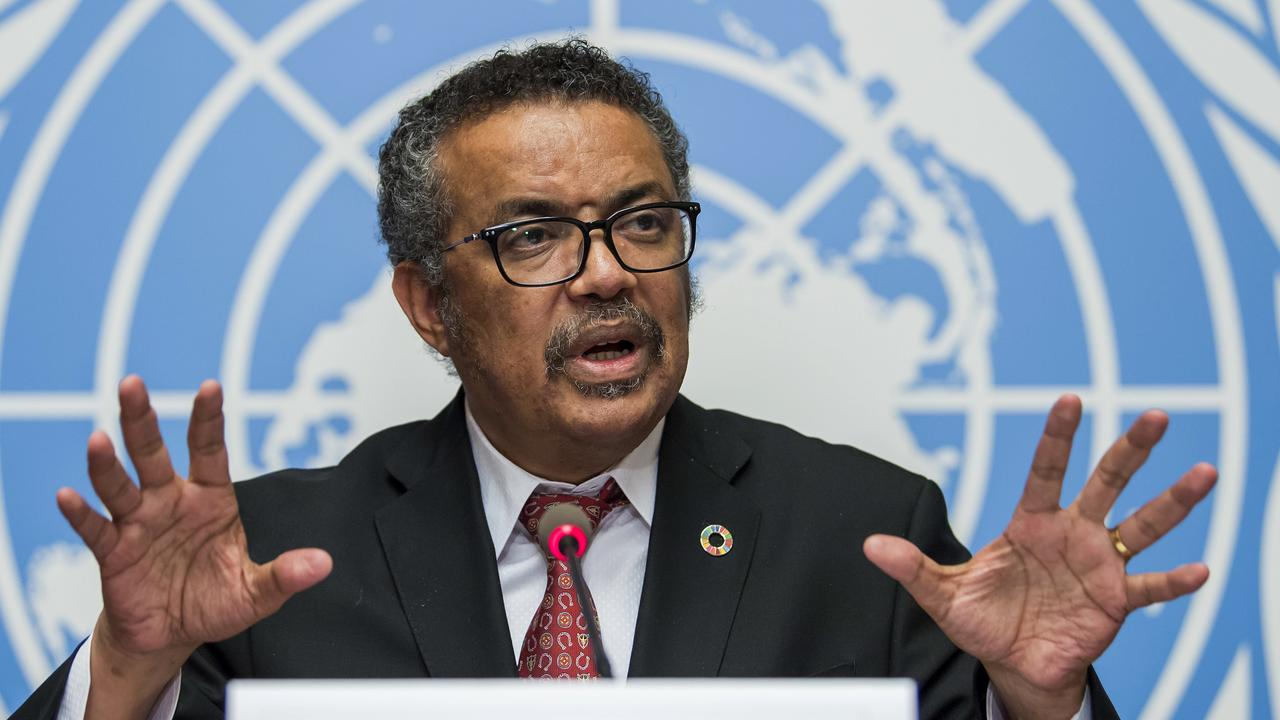 "Earlier this year, Tedros Adhanom Ghebreyesus said the ""stigma"" around coronavirus was worse than the disease Picture: Martial Trezzini/Keystone/AP"