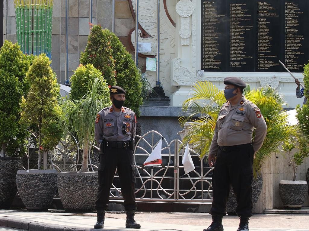 Life on Bali has become rather quiet for police without an influx of Aussie tourists, so they've been forced to resort to some unusual but not necessarily cruel punishments for local offenders.