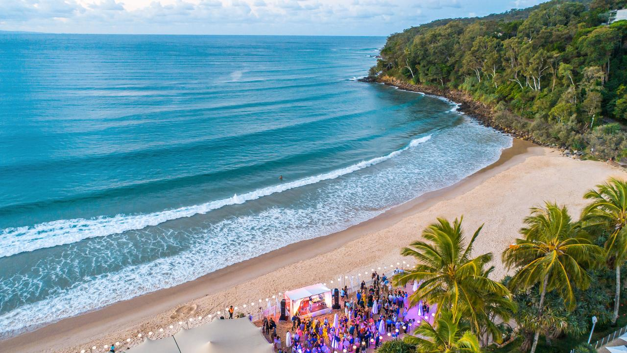 Noosa Eat & Drink uses the spectacular main beach at Noosa. Photo: Tourism Noosa