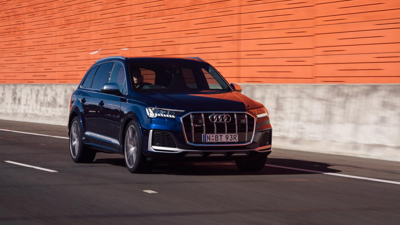 Photo of the Audi SQ7