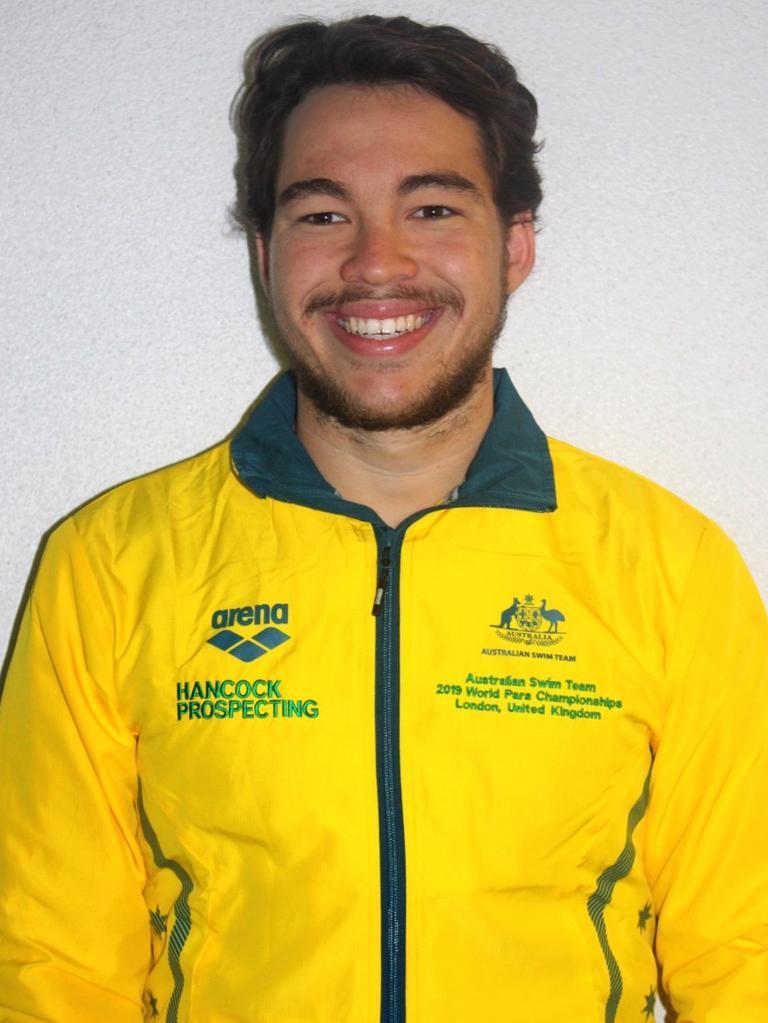 Paralympian Braedan Jason.