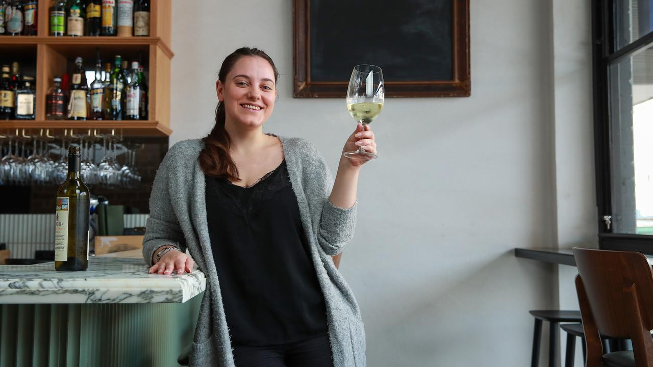 Brooke Adey, manager of Coogee Wine Room, were so overwhelmed with booking requests their system crashed. Picture: Justin Lloyd