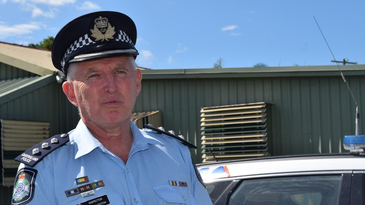 Mackay District Police Inspector Ian Haughton.