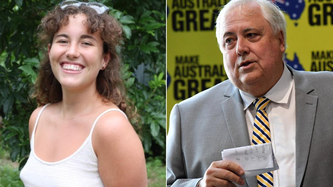 Lily Kerley is among a group of young Queenslanders that are challenging billionaire Clive Palmer's Waratah Coal over infringement of human rights.