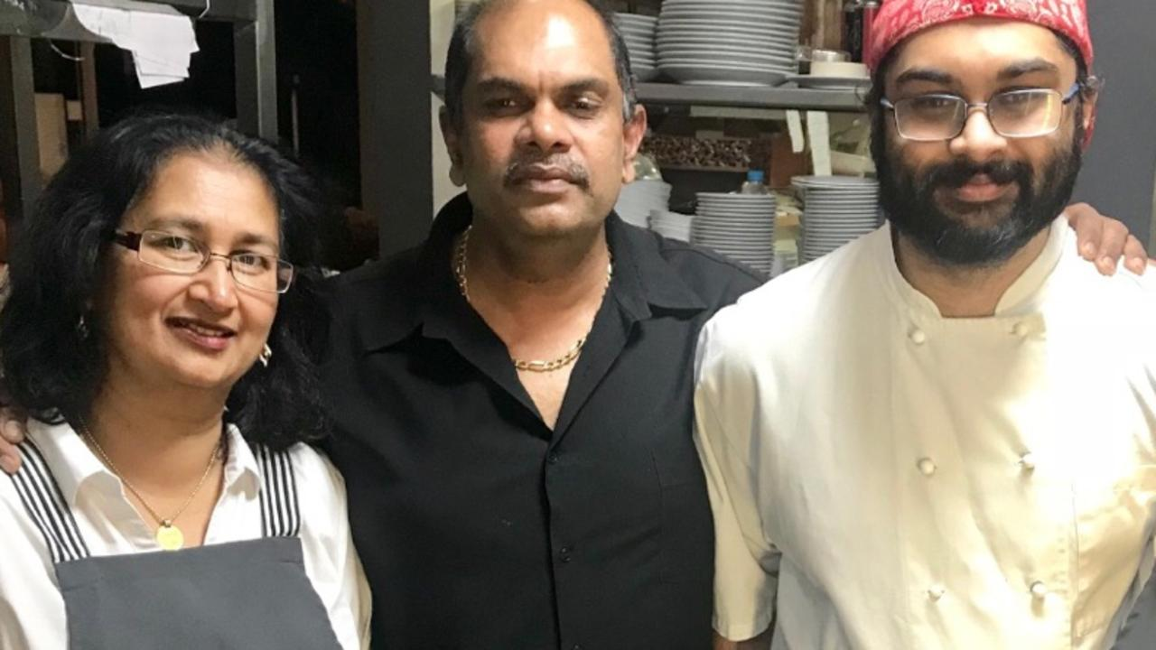 Mala, Danny Singh, and Rohan of The Cove Restaurant in Ballina are helping those in need with their free meals program.