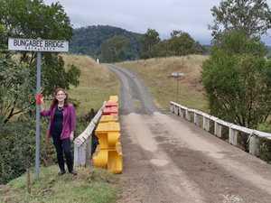 Unsafe bridge brings business to a halt