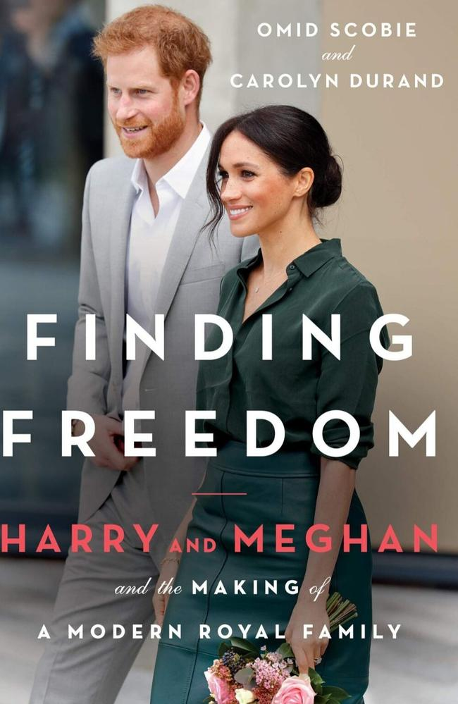 "Finding Freedom: Harry, Meghan, and the Making of a Modern Royal Family is thought to be a ""bombshell"" book. Picture: Supplied"