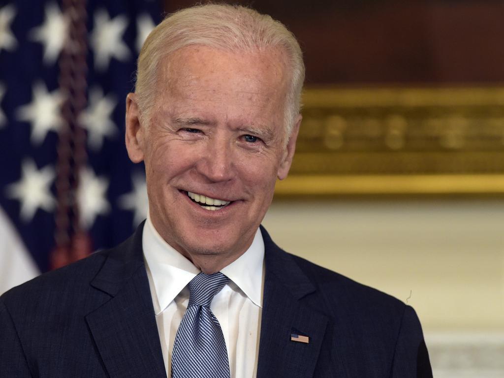 Former Vice President Joe Biden. Picture: AP
