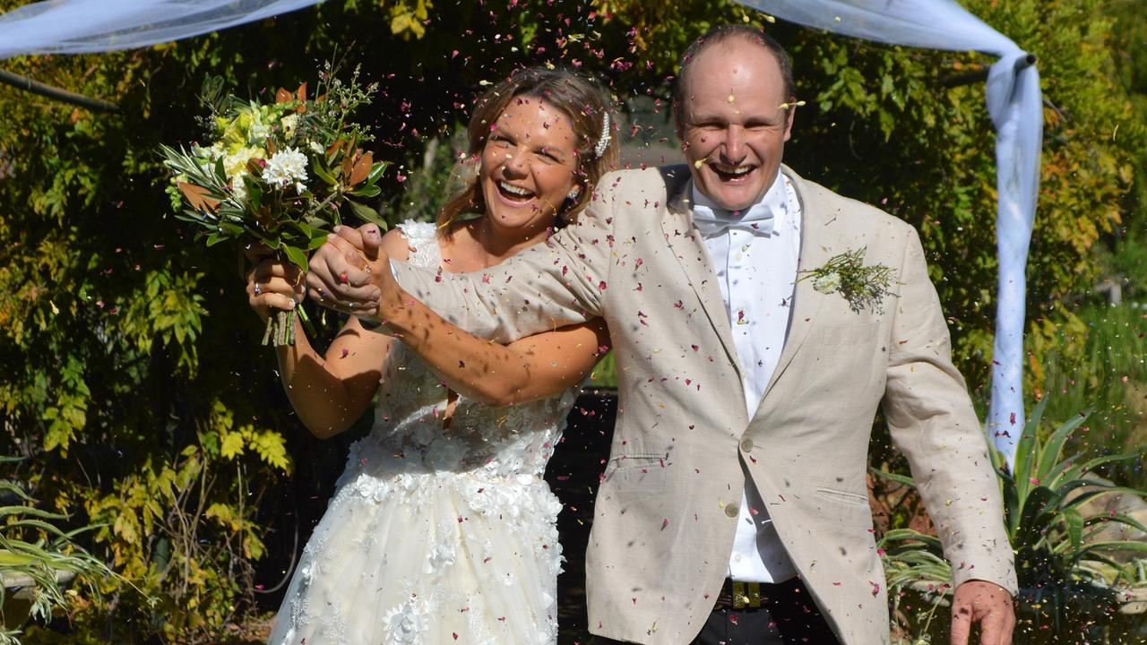 A DAY TO REMEMBER: Chinchilla couple Kate Boshammer and Nick Boshammer got married despite the COVID-19 restrictions.