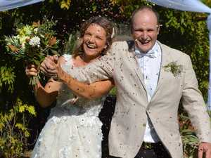 COVID-19 WEDDING: Chinchilla couple marries amid pandemic