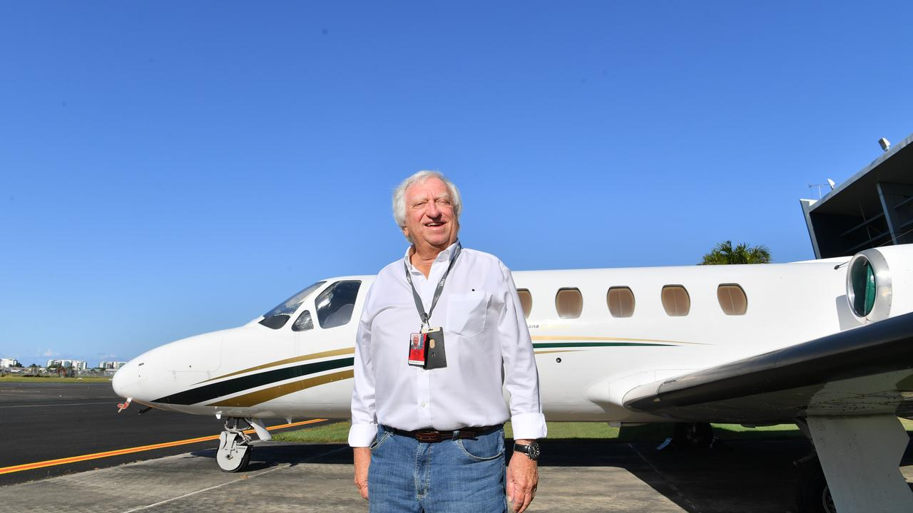 Alliance Airline chairman Steve Padgett says the company is enjoying record business at a time the rest of the industry is struggling due to COVID-19 restrictions. Photo: John McCutcheon / Sunshine Coast Daily